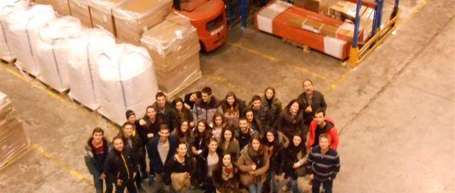 Estudiantes (Logística de distribución)