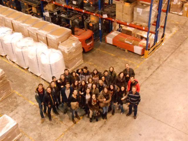 Estudiantes de la Universidad de Bayona