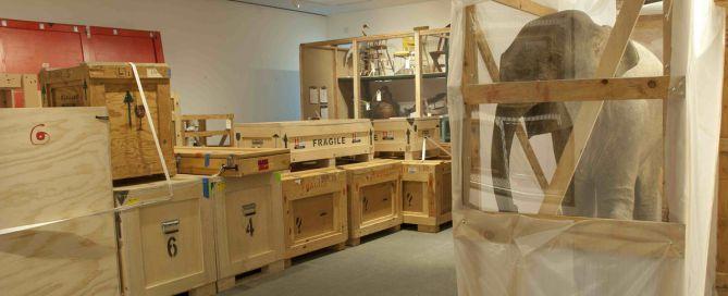 Transporte de obras de arte